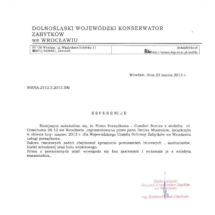 Dolnośląski Wojewódzki Konserwator Zabytków