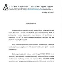 Zakłady chemiczne Złotniki S.A.